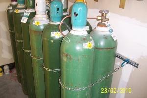 High Pressure Medical Gas Tanks